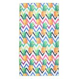 Scarfz long beach towel Funky Pineapple strandhanddoek