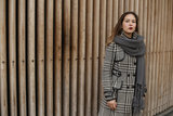 Mooie gebreide sjaal Winter Knitted|Grijs|Dikke kwaliteit|Extra lang_
