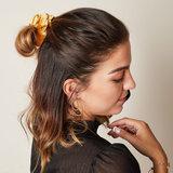 Scrunchie Sweet Velvet|Haarelastiek|Haarwokkel|Camel_