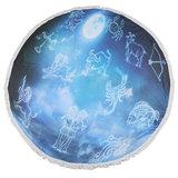 Roundie strandlaken Zodiac|Beach towel|Badstof|Blauw|Horoscoop_