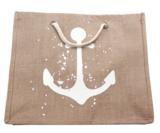 Beach Bag Sail Away|Strandtas|Jute|Bruin_