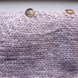 Gebreid dames vest Marshmellow|Paars damesvest|Fluffy vest_