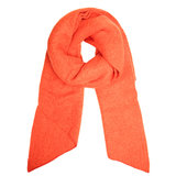 Warme dames sjaal Comfy Winter|Oranje effen shawl_