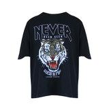 Oversized shirt Legend Panther|Zwart dames t-shirt_