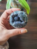Druif Agaat Bol|Edelsteenbol|A-Kwaliteit|Grape Agate|Medium 5-6cm_