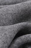 Scarfz mooie warme heren sjaal grijs