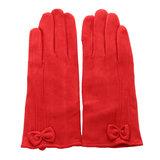 Scarfz dames handschoenen warm rood