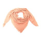 Scarfz vierkante dames sjaal Glitter Triangles roze