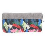 Scarfz dames portemonnee groot tropische print
