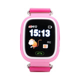 GPS Boss kinderhorloge tracker roze monkey