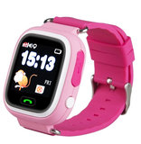 GPSBoss kinderhorloge tracker roze monkey