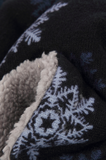 Scarfz winter sjaal col infinity jongens meisjes blauw beige snow