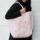 Scarfz City bag Star roze shopper schoudertas ster