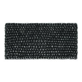 Scarfz haarband hoofdband Daydreamer black silver zwart