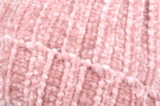 Warme dames muts Velvet Days|Roze|Gebreide beanie|Nepbont pompom_