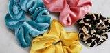 Scarfz scrunchies kleurtjes musthave luipaard velvet