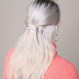 Haarclips Very Pearly|Haarschuifje|Goud|Parels|Setje_