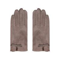 Zachte dames handschoenen Elements|Beige|Strik|warme handschoenen