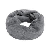 Faux fur col sjaal Furry Loop|Grijs|Tube shawl|col sjaal|Nep bont