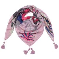 Vierkante dames sjaal African Jungle|Roze|Dierenprint