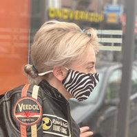 Trendy mondmasker Zebra|Katoen mondkapje|Wasbaar Herbruikbaar