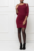 Dames jurk Fantasy burgundy rood