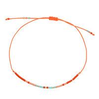 Armband Spring beads|Kralen armbandje|Oranje goud