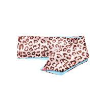 Zijde look bandana sjaaltje Leopard