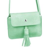 Kleine dames handtas Lovely Tassel groen