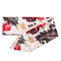 Zijdezacht klein sjaaltje bandana Rose Garden|Klein sjaaltje|Wit rood roze|Bloemenprint