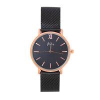 Dames horloge Lovely Times|Zwart Rose gold|Roestvrijstaal
