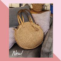 Beach Bag Summer Round|Strandtas|Bruin|Papier