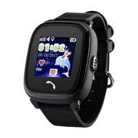GPS Kinderhorloge|Zwart|Waterproof|GPS tracker|SOS knop|Belfunctie