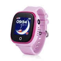 GPS Kinderhorloge|Roze|Camera|Waterproof|GPS tracker|SOS knop|Belfunctie|Met opgewaardeerde SIM kaart