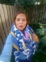 Grote vierkante sjaal Lila Wol Vierkante shawl Luipaardprint sterren Blauw geel roze groen grijs Extra zacht