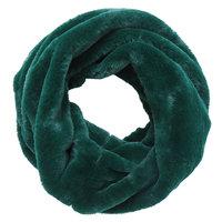 Faux fur col sjaal|Groen|Tube shawl|col sjaal|Nep bont