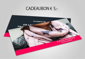 Scarfz Cadeaubon 5 euro