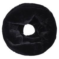 Faux fur col sjaal|Zwart|Tube shawl|col sjaal|Nep bont