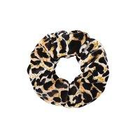 Scrunchie Velvet Leopard|Haarelastiek|Haarwokkel|Luipaard Geel