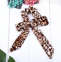 Bow scrunchie Leopard|Haarelastiek|Haarwokkel|Froezel|Strik|Luipaard