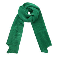 Lange sjaal Brighten Up Groen Kreukel sjaal Zijdezachte shawl