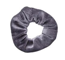 Scrunchie Sweet Velvet|Haarelastiek|Haarwokkel|Grijs