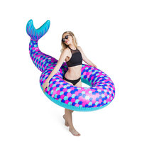 Inflatable Mermaid Love|Opblaasfiguur|zeemeermin|zwemband