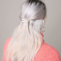 Haarclips Very Pearly|Haarschuifje|Goud|Parels|Setje