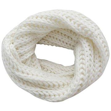 Gebreide col sjaal Knit|Wit|Tube shawl|Ronde sjaal|Cirkel sjaal