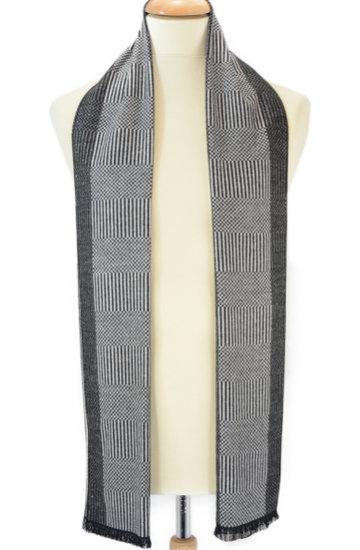 Heren sjaal mini stripes