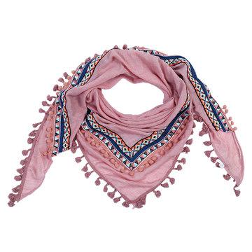 Driehoek sjaal Aztec Lines