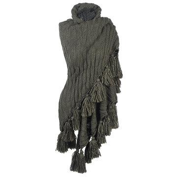 Dames shawl Autumn Dream Groen|Driehoek sjaal|Omslagdoek