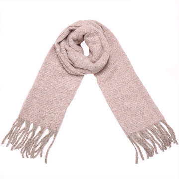 Lange dames sjaal Knitting Amazing|Poederroze|Dikke kwaliteit|Extra Warm
