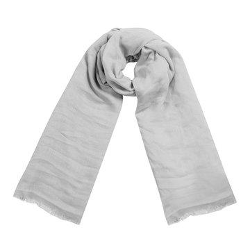 Vierkante dames sjaal Delicate Sweetheart grijs